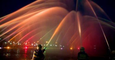 Hasičská fontána Praha